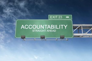 Accountability sign