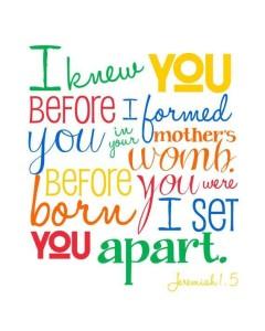 Jeremiah 1..5